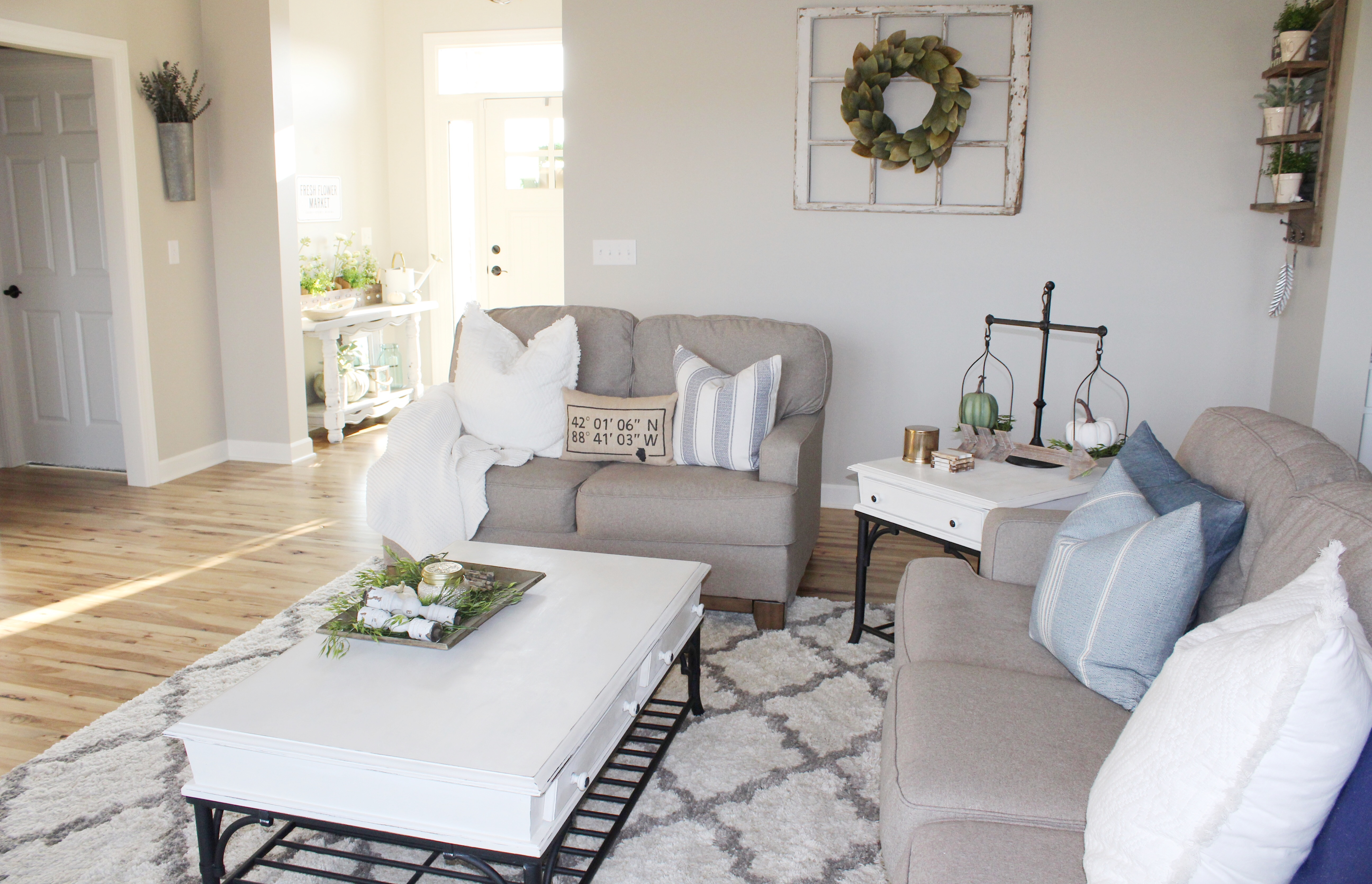 6 best farmhouse rugs on a budget the holtz house - Best area rugs for living room ...